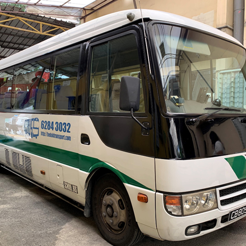 20 seater commercial bus