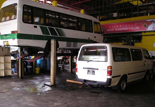 bus workshop services